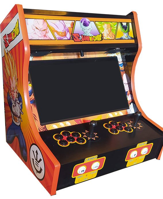 Borne Arcade Bartop Dragon Ball Z Orange