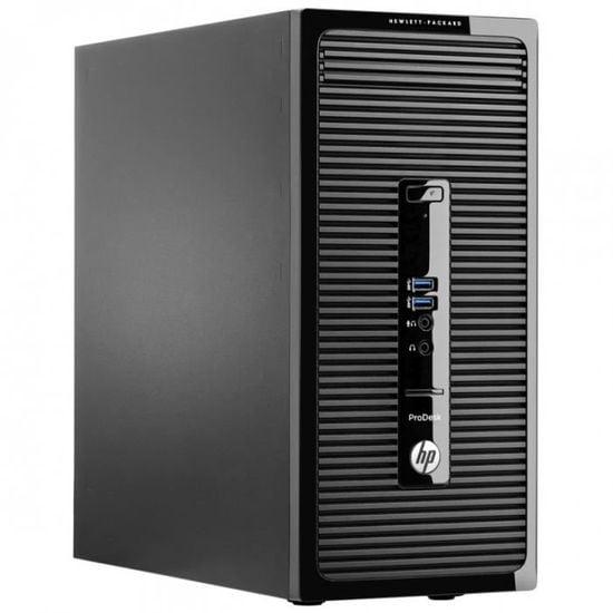 HP ProDesk 400 G2 Core i3 3,40 GHz - HDD 500 Go - RAM 8 Go