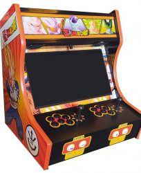 Borne Arcade Bartop Dragon Ball Z Orange