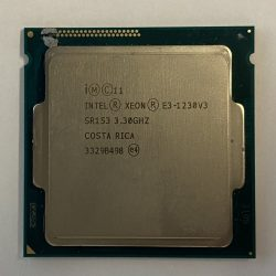 Processeur Intel Xeon E3-1230V3 SR153 3.30 GHZ